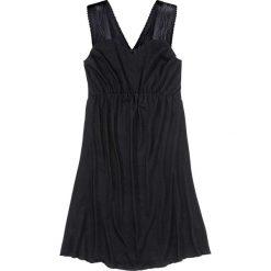 Koszule nocne i halki: Koszula nocna z koronkowymi wstawkami bonprix czarny