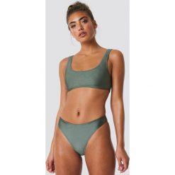 NA-KD Swimwear Sportowy dół bikini - Green. Zielone bikini NA-KD Swimwear. Za 52,95 zł.