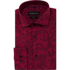 Koszula SIMONE KDAS000337. Czerwone koszule męskie na spinki marki Cropp, l. Za 169,00 zł.