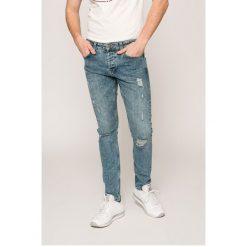 Only & Sons - Jeansy Spun. Niebieskie jeansy męskie regular Only & Sons, z bawełny. W wyprzedaży za 89,90 zł.