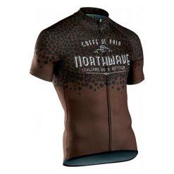 Northwave Męska Koszulka Rowerowa Caffealvolo Jrs S/S Brown Xl. Brązowe odzież rowerowa męska Northwave, m. Za 249,00 zł.