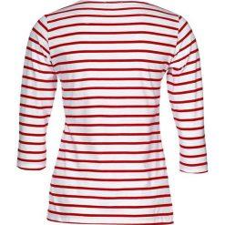 Bluzki asymetryczne: Armor lux CAP COZ Bluzka z długim rękawem blanc/braise