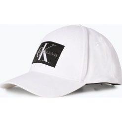 Czapki damskie: Calvin Klein Jeans - Damska czapka z daszkiem, czarny