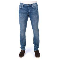Pepe Jeans Jeansy Męskie Track 31/34 Niebieski. Niebieskie jeansy męskie regular Pepe Jeans. W wyprzedaży za 230,00 zł.