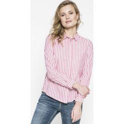 Review - Koszula. Szare koszule damskie marki Review, l, w paski, z bawełny, casualowe, z klasycznym kołnierzykiem, z długim rękawem. Za 129,90 zł.