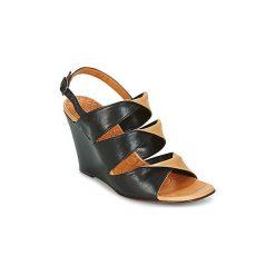 Sandały Chie Mihara  CRUSH. Czarne sandały damskie Chie Mihara. Za 975,20 zł.