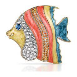 Biżuteria i zegarki: PROMOCJA Broszka Srebrna – srebro 925, Cyrkonia