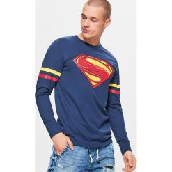 Bluzy męskie: Bluza superman - Granatowy