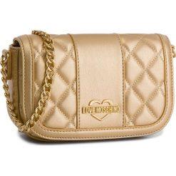 Torebka LOVE MOSCHINO - JC4013PP16LB0901 Oro. Żółte torebki klasyczne damskie Love Moschino, ze skóry ekologicznej. W wyprzedaży za 499,00 zł.