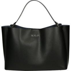 Torba - 142-03-O R NE. Szare torebki klasyczne damskie Venezia, ze skóry. Za 229,00 zł.