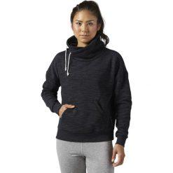Reebok Bluza damska El Marble BB Cowl czarna r. XS (BR5265). Czarne bluzy sportowe damskie marki Reebok, xs. Za 171,86 zł.