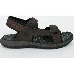 Timberland - Sandały. Czarne sandały męskie Timberland, z gumy. W wyprzedaży za 219,90 zł.