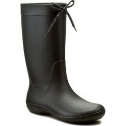 Kalosze CROCS - Freesail Rain Boot 203541 Black. Różowe buty zimowe damskie marki Crocs, z materiału. Za 209,00 zł.