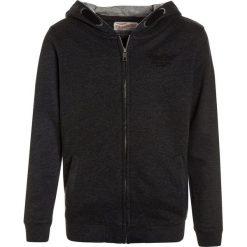 Petrol Industries HOODED Bluza rozpinana black. Czarne bluzy chłopięce rozpinane marki Petrol Industries, z bawełny. W wyprzedaży za 152,10 zł.