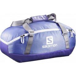 Salomon Torba Sportowo-Podróżna Prolog 40 Bag Baja Blue/Spectrum Blue. Niebieskie torby podróżne Salomon, w paski. W wyprzedaży za 209,00 zł.