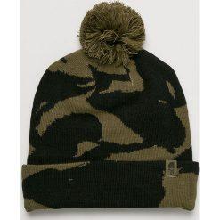 The North Face - Czapka. Brązowe czapki zimowe męskie marki The North Face, na zimę, z dzianiny. W wyprzedaży za 99,90 zł.