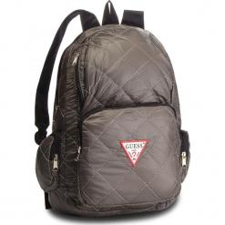 Plecak GUESS - HM6526 NYL84  GRY. Szare plecaki damskie Guess, z aplikacjami, z materiału, eleganckie. Za 279,00 zł.