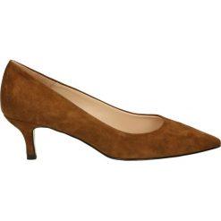 Czółenka - 0519 CAM RODE. Brązowe buty ślubne damskie Venezia, ze skóry. Za 349,00 zł.