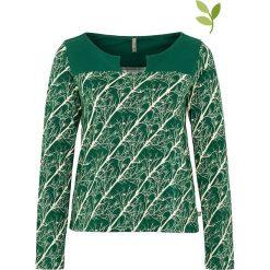 """Bluzki asymetryczne: Koszulka """"Dorleta"""" w kolorze zielonym"""