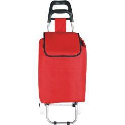 """Shopper bag damskie: Torba """"Clichy"""" w kolorze czerwonym na zakupy – 35 x 95 x 28 cm"""