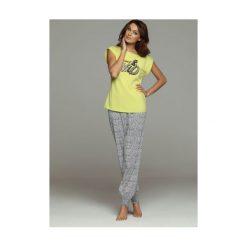 Piżama Frisco 32039-71X 32042-71X. Szare piżamy damskie marki Esotiq, z haftami, z elastanu. Za 98,90 zł.