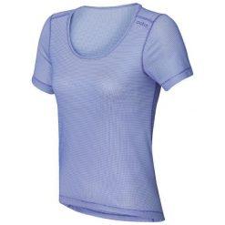 Odlo Koszulka damska Cubic Trend niebieska r. L (140481). Niebieskie topy sportowe damskie marki Odlo, l. Za 110,99 zł.
