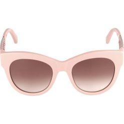 Okulary przeciwsłoneczne damskie aviatory: Stella McCartney Okulary przeciwsłoneczne pink/silvercoloured/brown