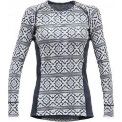 Devold Bluzka Damska Ona Woman Shirt, Night, M. Szare bluzki sportowe damskie Devold, xs, z długim rękawem. Za 369,00 zł.
