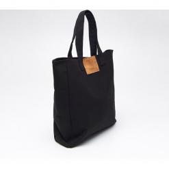 Duża torba TOTE BAG - Czarny. Czarne torebki klasyczne damskie marki Cropp, duże. Za 59,99 zł.