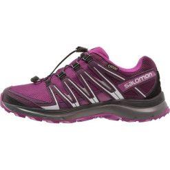 Salomon XA LITE GTX Obuwie do biegania Szlak dark purple. Fioletowe buty do biegania damskie Salomon, z gumy. Za 569,00 zł.