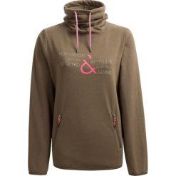 Bluza damska BLD605 - khaki - Outhorn. Brązowe bluzy damskie Outhorn, z materiału. W wyprzedaży za 79,99 zł.