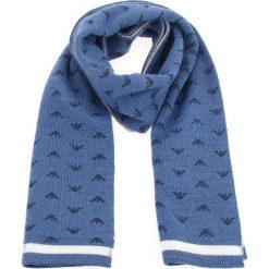 Szalik EMPORIO ARMANI - 404359 8A509 00034   Aviaton Blue. Niebieskie szaliki damskie Emporio Armani, z materiału. Za 319,00 zł.