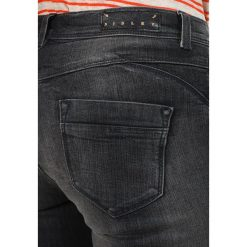 Sisley MEDIUM RISE 5 POCKET Jeansy Slim Fit grey. Szare jeansy damskie Sisley. Za 259,00 zł.