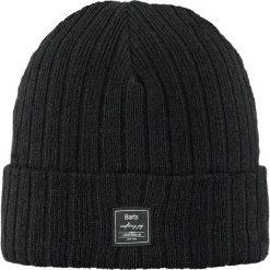 Barts - Czapka Parker Beanie black. Czarne czapki zimowe męskie marki Barts, na zimę, z dzianiny. W wyprzedaży za 59,90 zł.