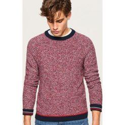 Sweter z raglanowym rękawem - Wielobarwn. Różowe swetry klasyczne męskie Reserved, l. Za 139,99 zł.