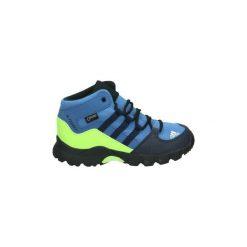 Buty Dziecko adidas  D97655. Niebieskie buty trekkingowe chłopięce marki CMP, z materiału. Za 263,62 zł.