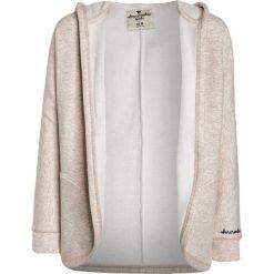 Abercrombie & Fitch COZY NON CLOSURE Kurtka przejściowa oatmeal/light grey. Białe kurtki dziewczęce przejściowe Abercrombie & Fitch, z bawełny. W wyprzedaży za 170,10 zł.
