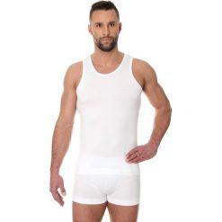 Brubeck Koszulka męska Comfort Cotton biała r. L (TA00540A). Białe podkoszulki męskie Brubeck, l. Za 50,63 zł.