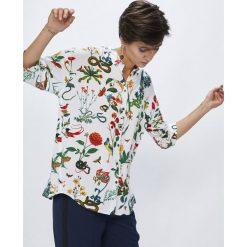 Medicine - Koszula Secret Garden. Szare koszule damskie marki MEDICINE, m, z tkaniny, casualowe, z długim rękawem. W wyprzedaży za 49,90 zł.