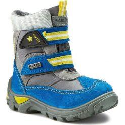 Buty zimowe chłopięce: Śniegowce BARTEK – 51522-0TF Szaro Turkusowy
