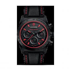 ZEGAREK TUDOR FASTRIDER BLACK SHIELD 42000CR STRAP BLACK INDEX RED W. Czarne zegarki męskie TUDOR, ceramiczne. Za 20390,00 zł.
