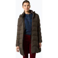 Opus - Damski płaszcz pikowany – Hinja, zielony. Zielone płaszcze damskie Opus. Za 649,95 zł.