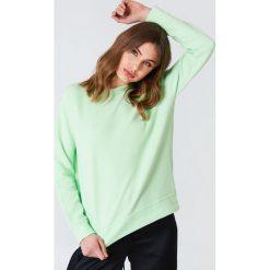 Bluzy damskie: Samsoe & Samsoe Bluza z okrągłym dekoltem Apo – Green
