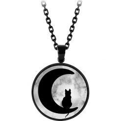 Naszyjniki damskie: Wildcat Moonlight Cat Naszyjnik standard