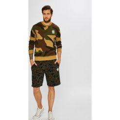 G-Star Raw - Bluza. Brązowe bluzy męskie rozpinane marki G-Star RAW, l, z bawełny, bez kaptura. W wyprzedaży za 319,90 zł.