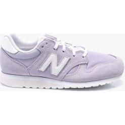 New Balance - Buty WL520LL. Czerwone buty sportowe damskie marki New Balance, z gumy. W wyprzedaży za 259,90 zł.
