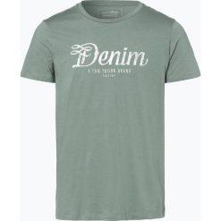 T-shirty męskie z nadrukiem: Tom Tailor Denim – T-shirt męski, zielony