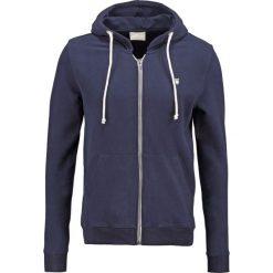 Knowledge Cotton Apparel BASIC  Bluza rozpinana dark blue. Niebieskie kardigany męskie Knowledge Cotton Apparel, m, z bawełny. Za 399,00 zł.