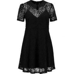 Sukienki: New Look Curves CUTWORK SKATER Sukienka letnia black