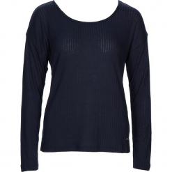 """Koszulka piżamowa """"Cool Nights"""" w kolorze granatowym. Białe koszule nocne i halki marki LASCANA, w koronkowe wzory, z koronki. W wyprzedaży za 58,95 zł."""